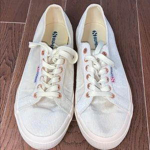 Like New Superga Corduroy Sneakers